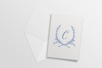 Nikisha's Wreath Notecards