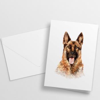 Nikisha's Watercolor Dog Notecards