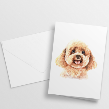 Nikisha's Watercolor Dog Notecards