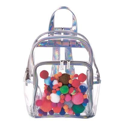 Pom-Poms Mini Backpack