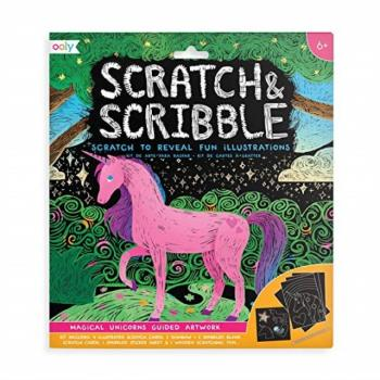 Ooly Craft Kits - Scratch & Scribble