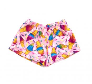 Cupcake Fleece Shorts