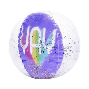 3D Confetti Beach Ball