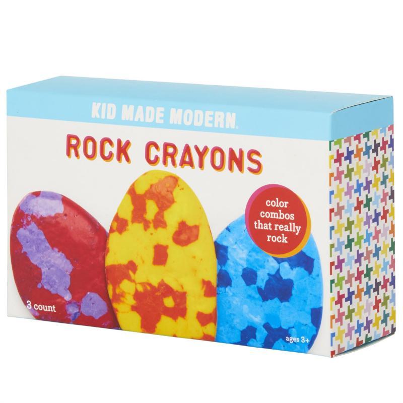 3 Rock Crayons