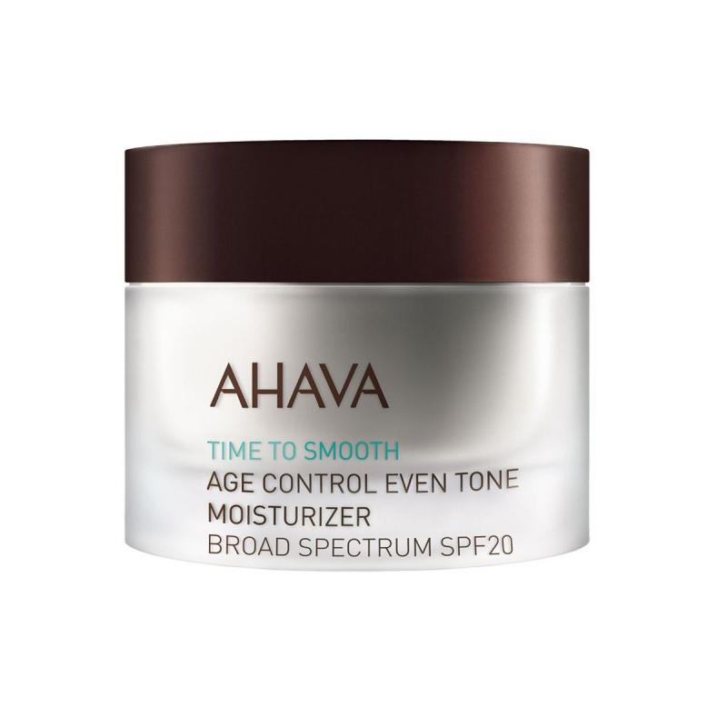AHAVA - Time to Smooth Age Control Even Tone Moisturizer Broad Spectrum SPF20 1.7 Oz.