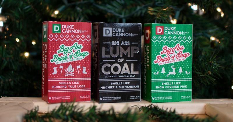 Duke Cannon Holiday Soaps