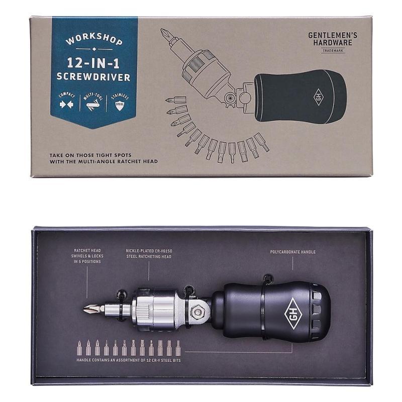 Gentlemen's Hardware 12 in 1 Screwdriver