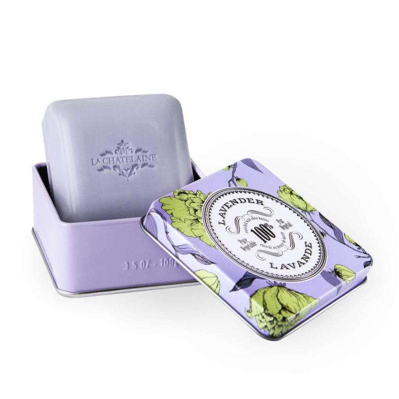 La Chatelaine Lavender Travel Soap 3.5oz