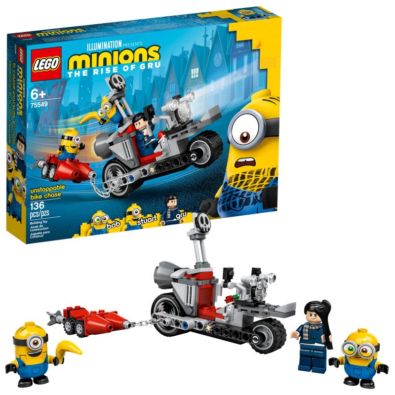 LEGO Minions The Rise of Gru Unstoppable Bike Chase