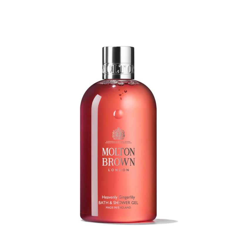 Molton Brown Bath & Shower Gel, Heavenly Gingerlily, 10 Oz.