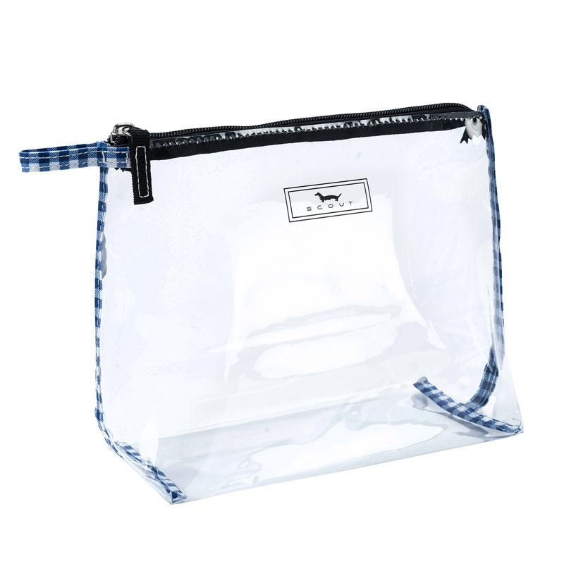 SCOUT Bags Pouch in the Clear Brooklyn Checkham