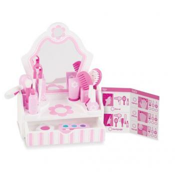 Melissa & Doug Beauty Salon Vanity Play Set