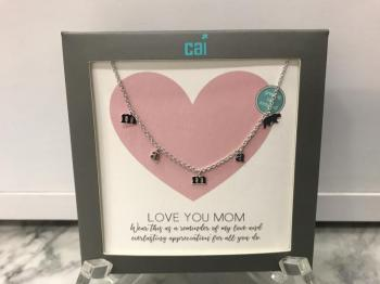 "Cai ""Mama"" Necklace Silver"
