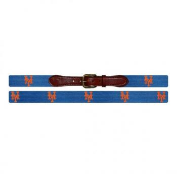 New York Mets Needlepoint Belt