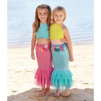Mudpie Mermaid Shimmer Tail 5t and up