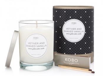 Kobo Vetiver and Shaved Vanilla
