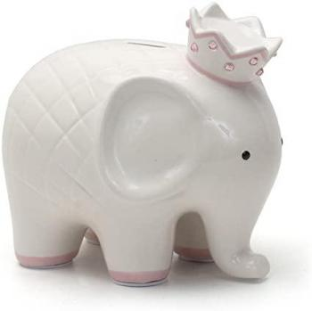 Child to Cherish Coco Elephant Pink Piggy Bank