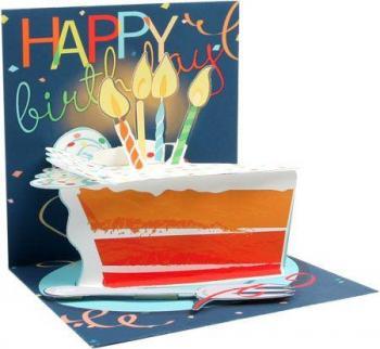 Big Slice of Cake card