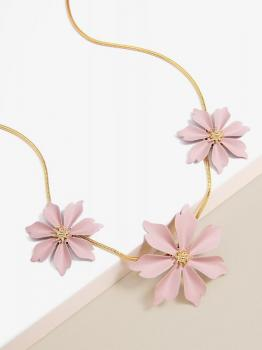 Zenzii Jasmine Collar Necklace