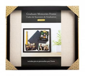 Kate & Milo Graduate Memories Frame