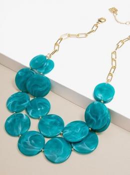 Zenzii Watercolors Collar Necklace