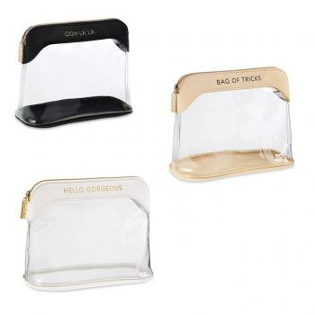 Mudpie Clear Make-Up Bag