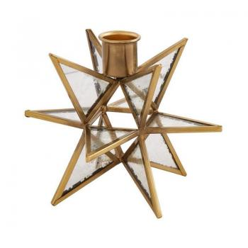 Mud Pie Star Taper Holder