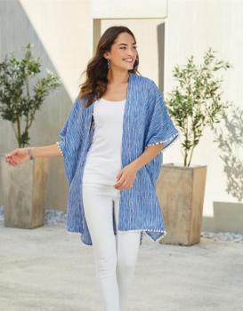 Mudpie Callen Komono blue stripe