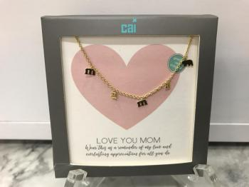 "Cai ""Mama"" Necklace Gold"
