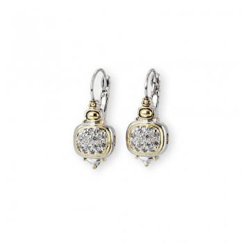 John Medeiros Nouveau CZ French Wire Earrings