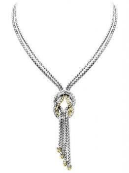 John Medeiros Anvil Knot Necklace