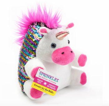 Mini Sequin Pet - Sprinkles The Unicorn