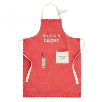 Mud Pie Santa's Helper Apron