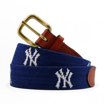 New York Yankees Needlepoint Belt