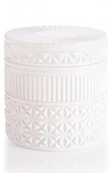 Capri Blue Gilded Muse Jumbo Faceted Jar Candle, Size One Size - White