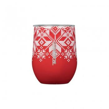 Corkcicle Fairisle Stemless Cup
