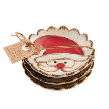 Mud Pie Santa Farmhouse Dipping Dishes