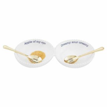 Mud Pie Hanukkah Double Dip Set