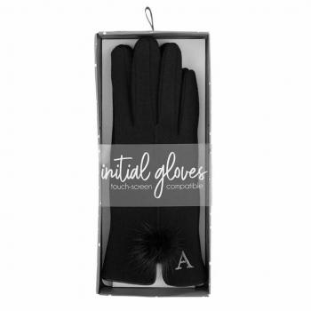 Mud Pie Initial Gloves