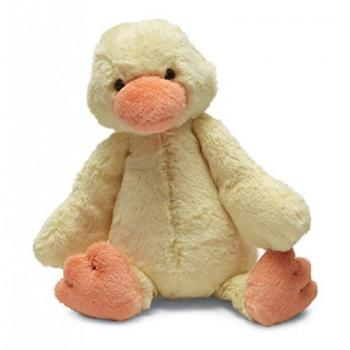 Jellycat Yellow Bashful Duckling - Medium
