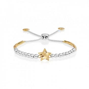 Katie Loxton Hammered Star Ball Friendship Bracelet