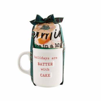 Mud Pie Peppermint Mug Cake Set
