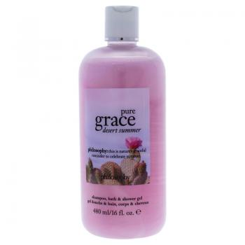 Philosophy Pure Grace Desert Summer Shampoo, Bath & Shower Gel 480ml
