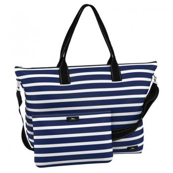 SCOUT Bags Foldable Travel Bag Overpacker Nantucket Navy