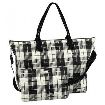 SCOUT Bags Foldable Travel Bag Overpacker Plaid Habit