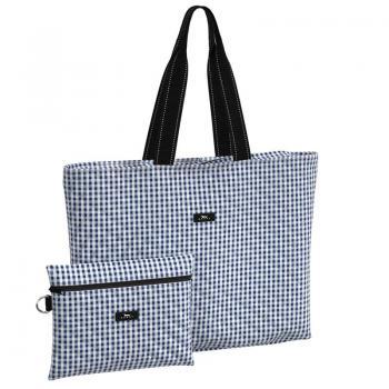 SCOUT Bags Foldable Travel Bag Plus 1 Brooklyn Checkham