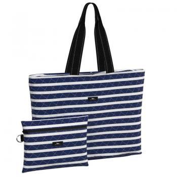 SCOUT Bags Foldable Travel Bag Plus 1 Nantucket Navy