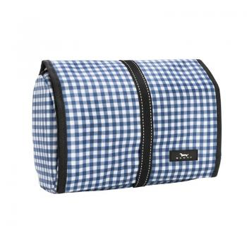 SCOUT Bags Hanging Toiletry Bag Beauty Burrito Brooklyn Checkham