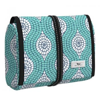 SCOUT Bags Hanging Toiletry Bag Beauty Burrito Mosaic Aint So