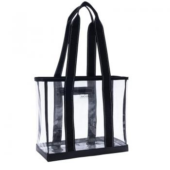 SCOUT Bags Tote Bag Clear Mini Deano Black